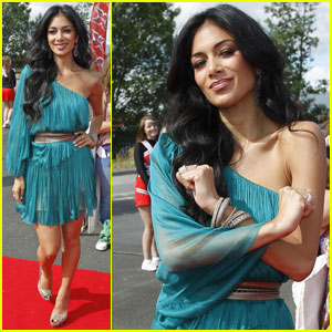 Nicole Scherzinger: 'X Factor UK' Auditions in Newcastle!