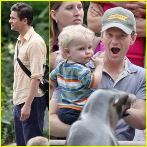 Neil Patrick Harris: Zoo with Harper &#038; Gideon!