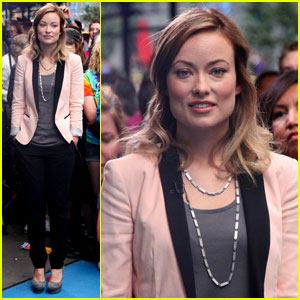Olivia Wilde: 'Good Morning America' Guest!