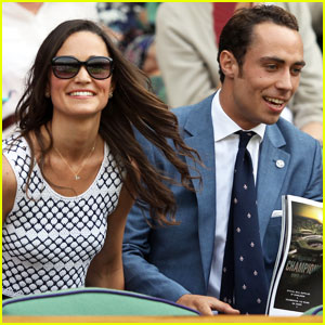 Pippa Middleton: Wimbledon with Brother James!