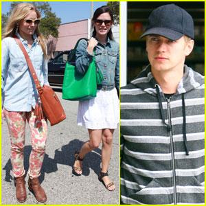 Rachel Bilson & Kristen Bell: Shopping Gal Pals!