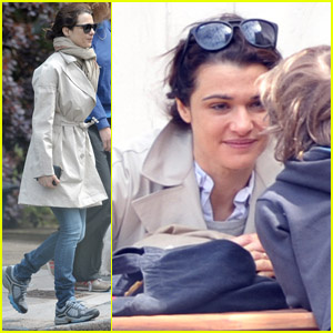 Rachel Weisz: Coffee Break in London!