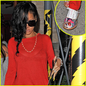 Rihanna: Da Silvano Dinner!