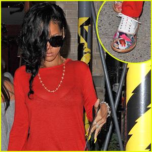 Rihanna: Da Silvano Dinner!