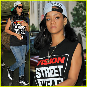 Rihanna: Vision Street Wear!