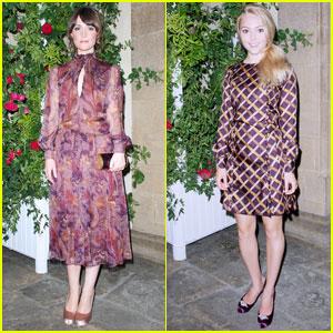 Rose Byrne & AnnaSophia Robb: 'Marilyn' Opening!