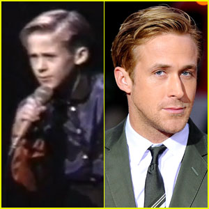 Watch 10-Year-Old Ryan Gosling Sing & Dance!