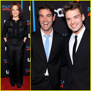 Sigourney Weaver &#038; Sebastian Stan: 'Political Animals' Screening!