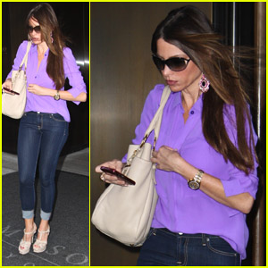 Sofia Vergara: Back in the Big Apple!