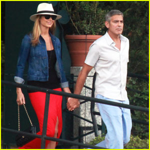 Stacy Keibler Not Pregnant with George Clooney's Baby