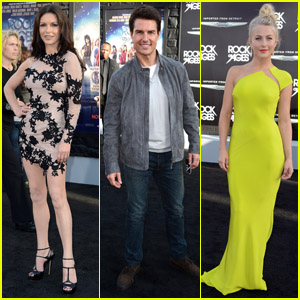 Tom Cruise & Julianne Hough: 'Rock of Ages' Premiere!