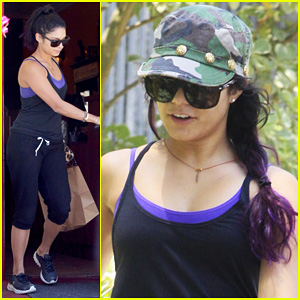 Vanessa Hudgens: Pilates Workout Day!