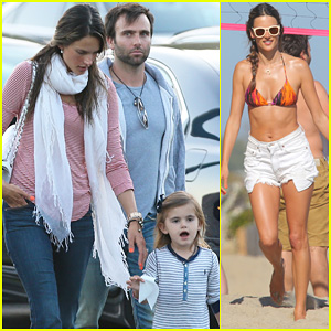 Alessandra Ambrosio: Family Day in Malibu!