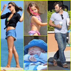 Alessandra Ambrosio: Family Fun Day!
