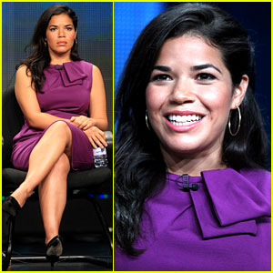 America Ferrera Talks 'Half the Sky' at Summer TCA Tour