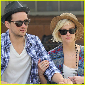 Ashlee Simpson & Vincent Piazza: Sunday Shoppers!