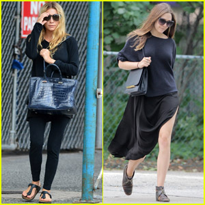 Ashley &#038; Elizabeth Olsen: Stylish Sisters!