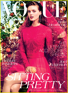 Bella Heathcote Covers 'Vogue Australia' September 2012