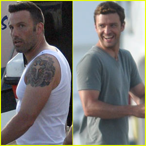 Ben Affleck & Justin Timberlake: 'Runner, Runner' Set!