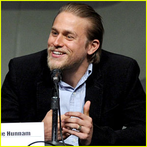 Charlie Hunnam: 'Pacific Rim' at Comic Con 2012!
