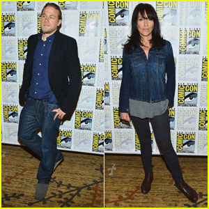 Charlie Hunnam: 'Sons of Anarchy' Panel at Comic-Con!