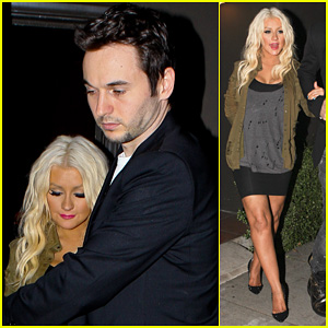 Christina Aguilera: Osteria Mozza with Mat
