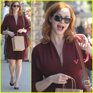 Christina Hendricks: Rummage Shopper!