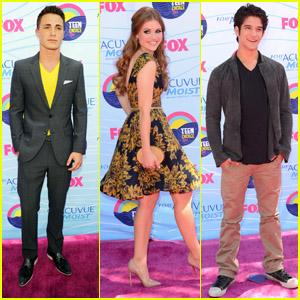 Colton Haynes & Holland Roden - Teen Choice Awards 2012