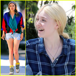 Elizabeth Olsen & Dakota Fanning Are 'Very Good Girls'!