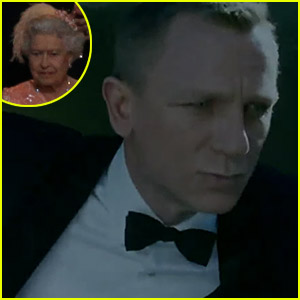 Daniel Craig & Queen Elizabeth's Olympic Arrival - Watch Now!