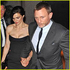 Daniel Craig & Rachel Weisz: 'Bourne Legacy' Premiere Pair!