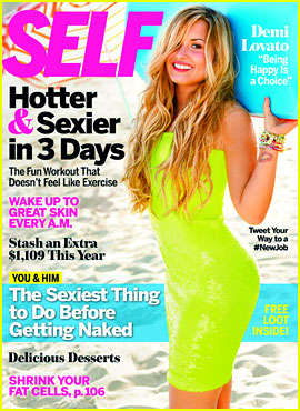 Demi Lovato Covers 'Self Magazine' August 2012