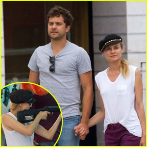Diane Kruger & Joshua Jackson: Carnival Couple in Paris!