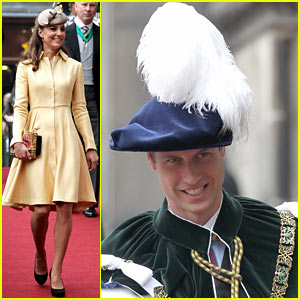 Duchess Kate & Prince William: Thistle Ceremony!