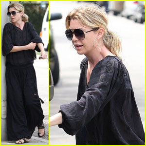 Ellen Pompeo: Black Dress Shopper