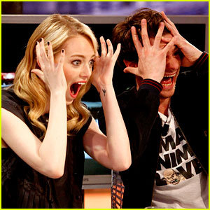 Emma Stone & Andrew Garfield: 'Spider-Man' Tops July 4th!