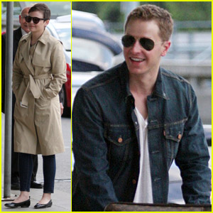 Ginnifer Goodwin & Josh Dallas Gear Up for Comic-Con!