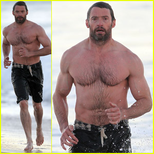 Hugh Jackman: Sydney Beach Day with Family!