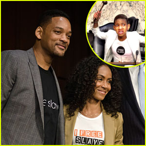 Jada Pinkett Smith Testifies on Capital Hill with Will & Willow