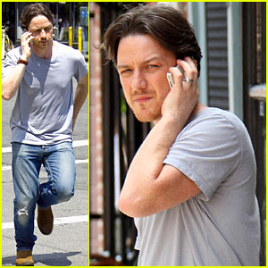 James McAvoy: On Location for 'Eleanor Rigby'!