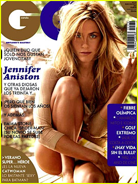 Jennifer Aniston Covers 'GQ Spain' July/August 2012