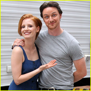 Jessica Chastain & James McAvoy: 'Disappearance' Duo!