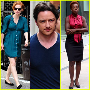 Jessica Chastain: 'Eleanor Rigby' Set with Viola Davis!