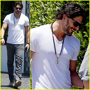 Joe Manganiello: John Varvatos Shopper