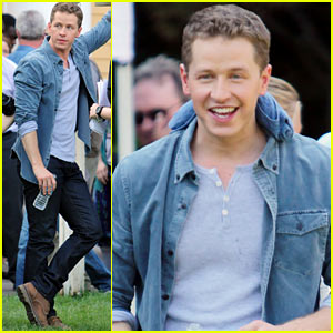 Josh Dallas: 'Once Upon A Time' Season Two Begins Filming!