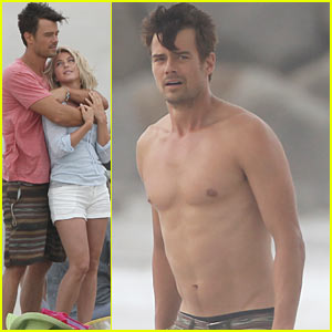 Josh Duhamel: 'Safe Haven' Shirtless with Julianne Hough!