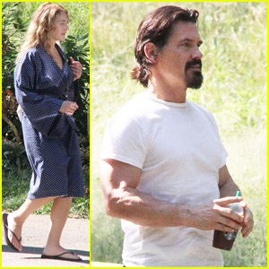 Kate Winslet & Josh Brolin: 'Labor Day' Set!