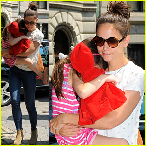 Katie Holmes &#038; Suri: Central Park Zoo Trip!