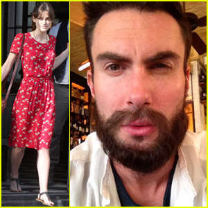 Adam Levine & Keira Knightley: 'Song' Stylish