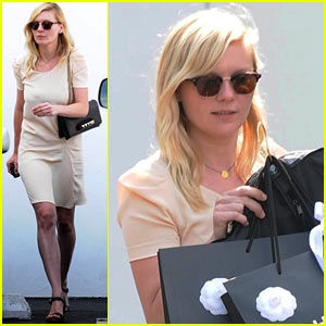 Kirsten Dunst: Chanel Shopping Spree!